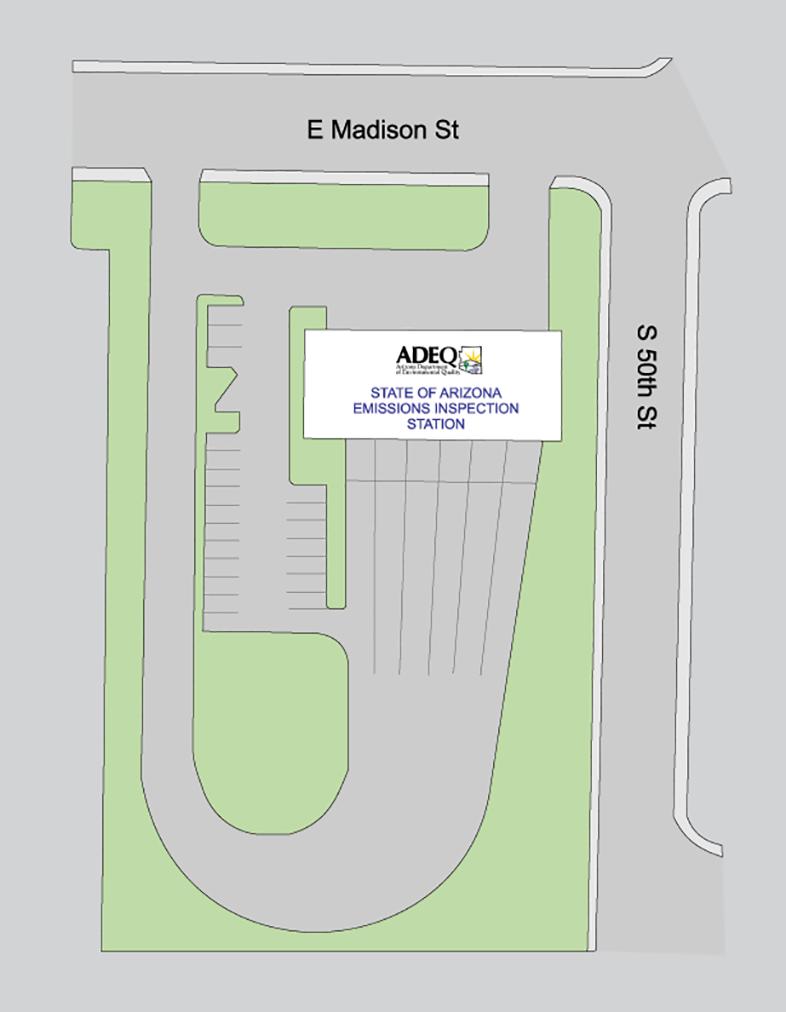 Arizona Emissions Testing Stations Phoenix - East Madison